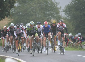 The leading group in the climb of Schmuelen