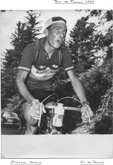 Charly Gaul bei der Tour de France 1955
